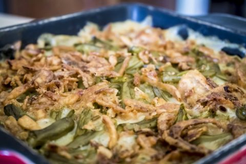Healthy Green Bean Casserole and 10 Health Benefits of Green Beans