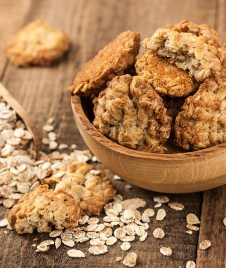 Hearty Healthy Oatmeal Cookies