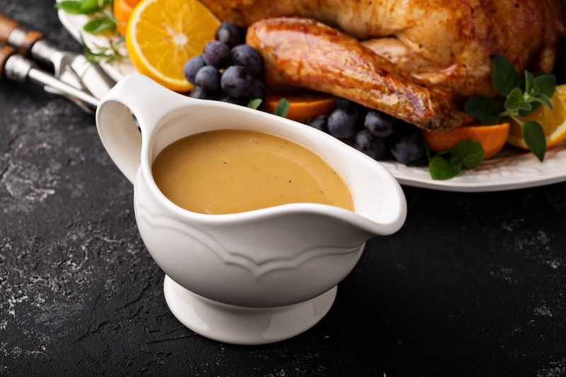 Keto Zone Thanksgiving Gravy
