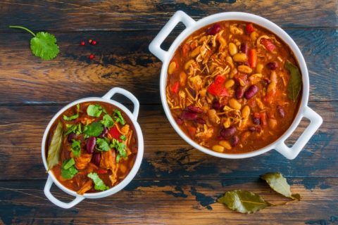 Got Turkey Leftovers? Delicious Healthy Turkey & Bean Chili and Benefits of Kidney Beans
