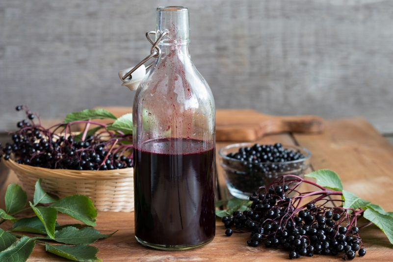 Keto Zone Elderberry Syrup Health Tonic