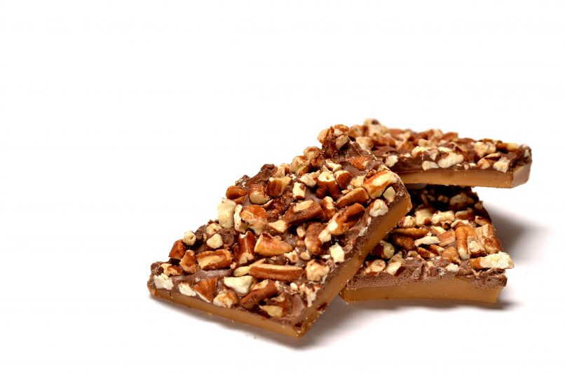Christmas Pecan Toffee