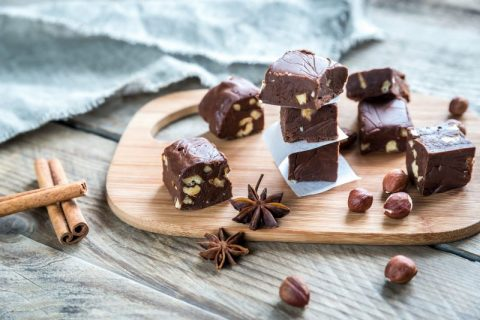 Keto Zone Hazelnut Holiday Fudge