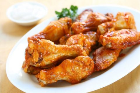 Delicious Crispy Keto Wings and Sauces for the Big Game