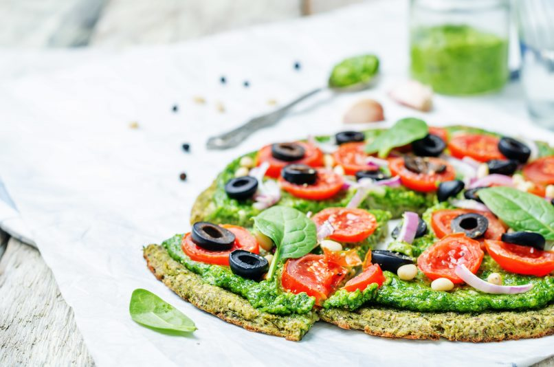Keto Zone Zucchini Pizza Crust & Amazing Health Benefits