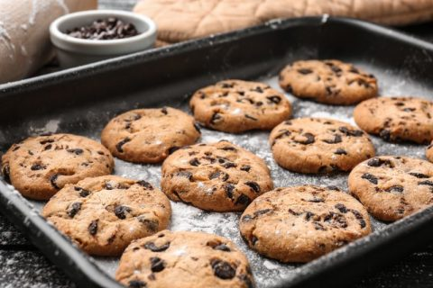 Isolation Pick-Me-Up: Keto Zone Chocolate Chip Cookies