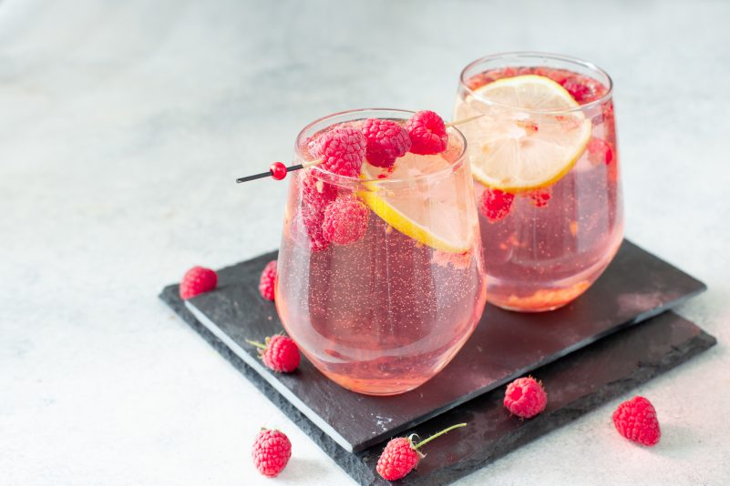 Keto Zone Lemon Berry Spritzer (Non-Alcoholic)