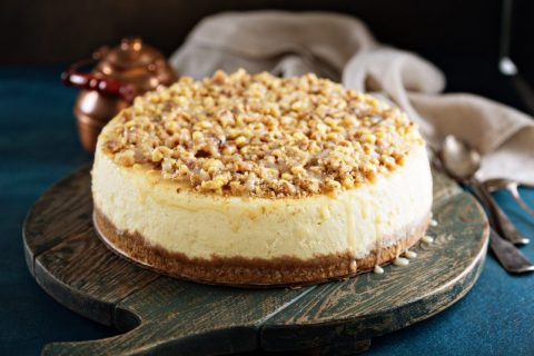 Scrumptious Low-Carb Pecan Pie Cheesecake (Only 4 Grams Net Carbs!)